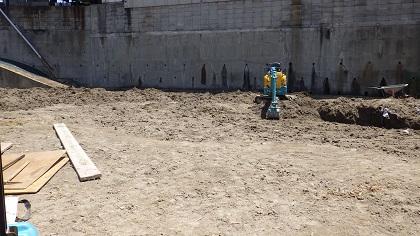造園工事前