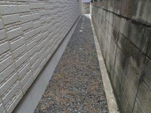 奈良防草シート工事前