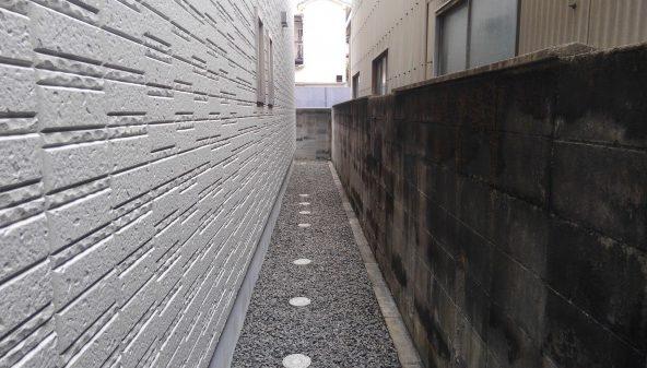 奈良市防草シート工事後